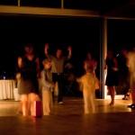 candelight dancing